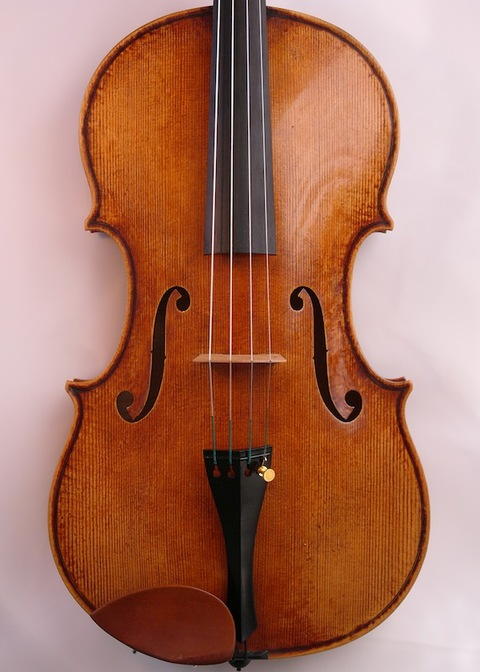 "Jason Viseltear   Violins, Violas, Cellos   Modern and Baroque Gold medal 16.5"" viola after da Salo"