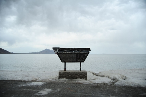 Cleansing the Memories <br>The Bonneville Salt Flats, Utah 2010<br>