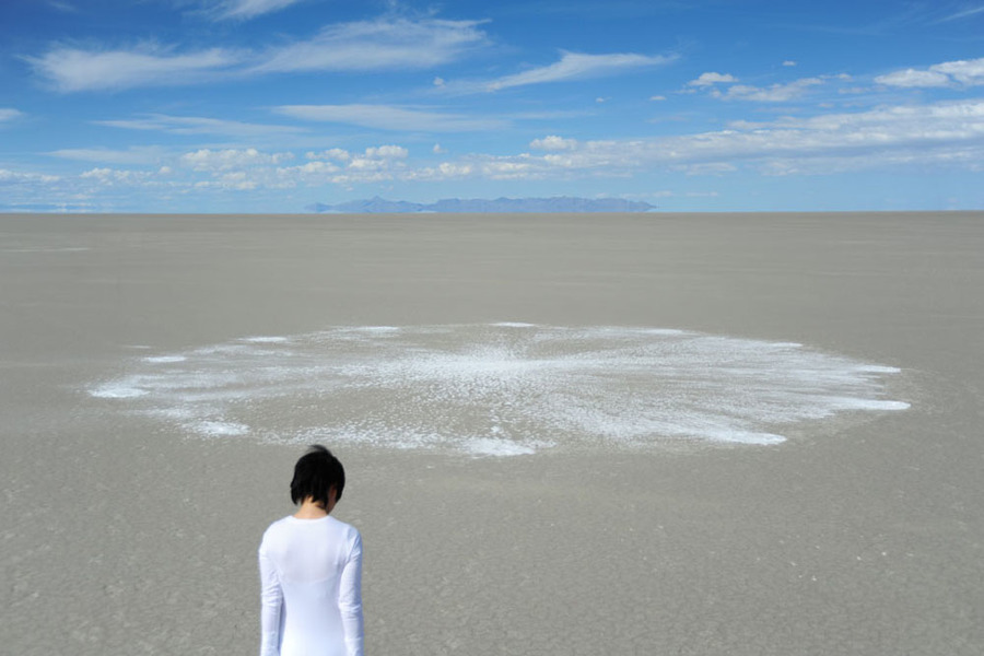 Cleansing the Memories <br>The Bonneville Salt Flats, Utah 2010<br> Cleansing the Memories, 2010