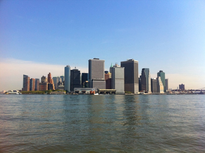 A Zero State <br>Governors Island, New York 2011<br> The Lower Manhattan view form Governors Island, NY