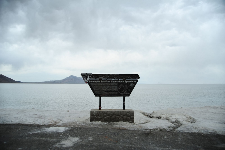 Cleansing the Memories <br>The Bonneville Salt Flats, Utah 2010<br> First research trip