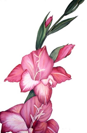 Janine Brown Botanicals Watercolor
