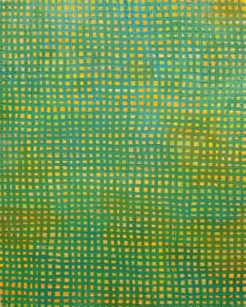 PAINTINGS 2003-2007 Green Grid,