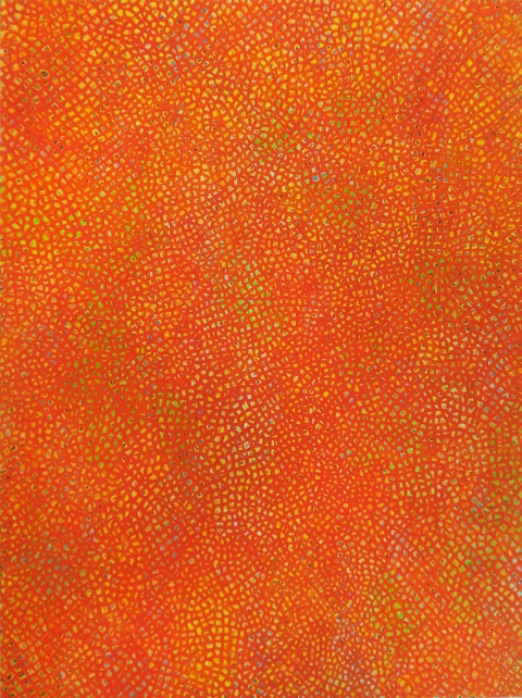 2010-2011 PAINTINGS Untitled (red 01913)