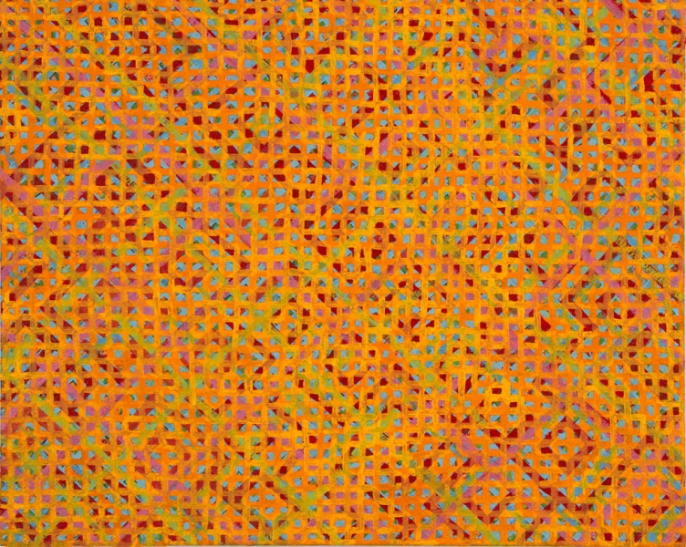 2010-2011 PAINTINGS Untitled, (zigzag)