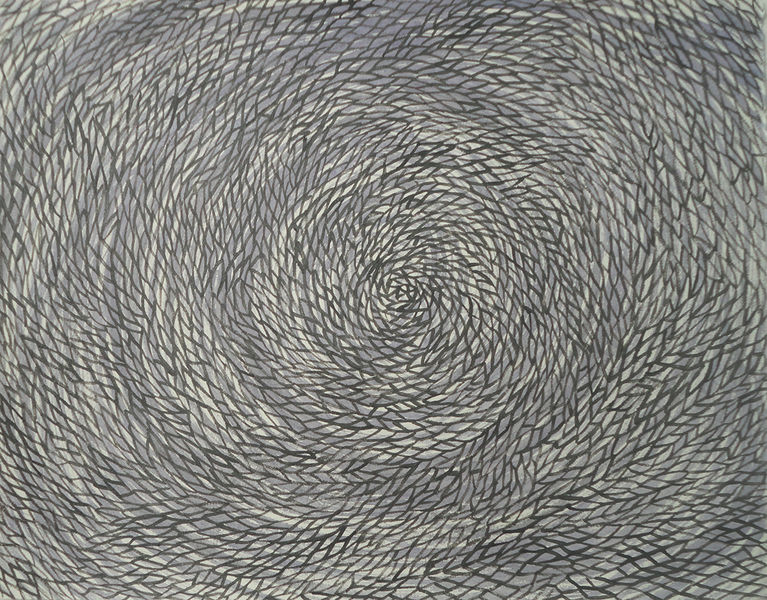 WORK ON PAPER Untitled (vortex series)