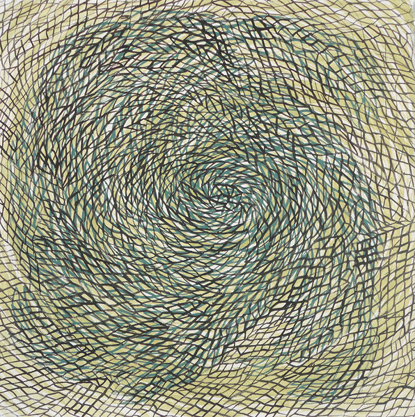 SMALL WORK ON PAPER Untitled (3342) (10x10 vortex series)