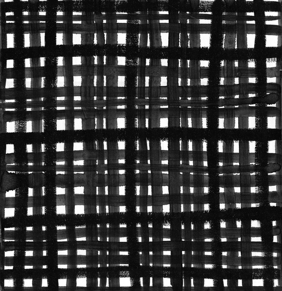 PAINTINGS Black Grid