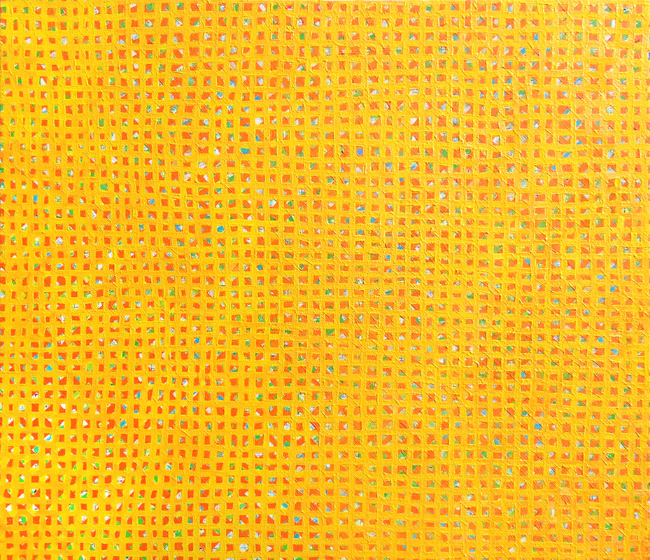 AFFORDABLE ART FAIR YELLOW GRID