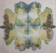 Jeanne Wilkinson Symmetry Paintings (2000) Acrylic on muslin