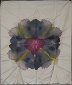 Jeanne Wilkinson Symmetry Paintings (2000) Acrylic on silk