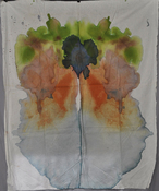 Jeanne Wilkinson Symmetry Paintings (2000) Acrylic on cotton fabric