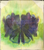 Jeanne Wilkinson 5. Symmetry Paintings (2000) Acrylic on fabric