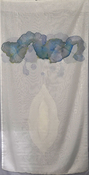 Jeanne Wilkinson 4. Layered Paintings (2001) Acrylic on sheer fabric