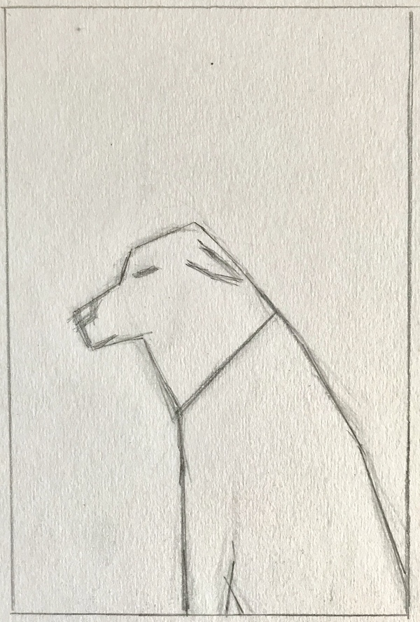 Jean Smith The dogs drawing