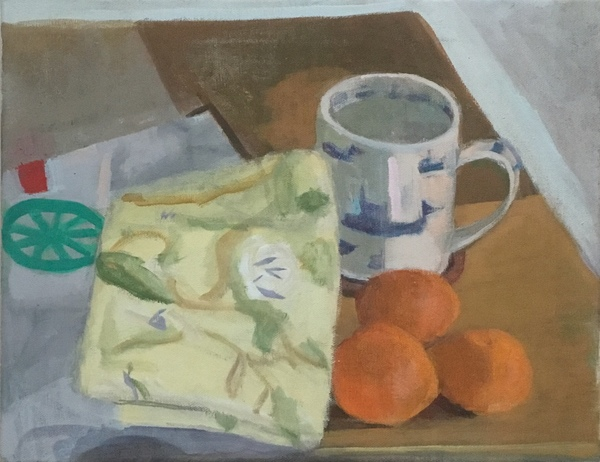 painting Coffee cup still life