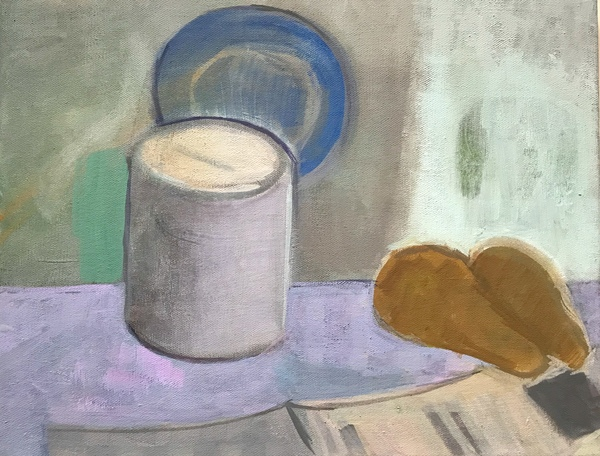 painting Paint can still life