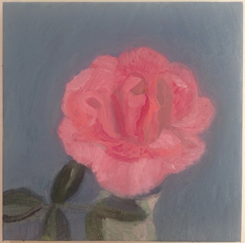 painting Rose