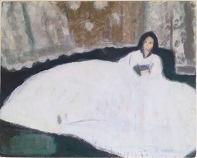 Jean Smith after famous paintings acrylic on canvas
