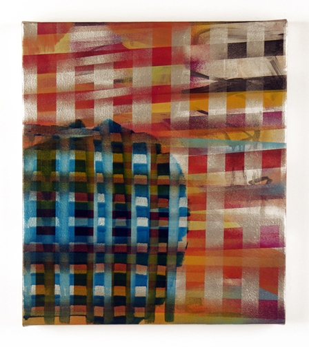 Paintings Untitled, Plaid