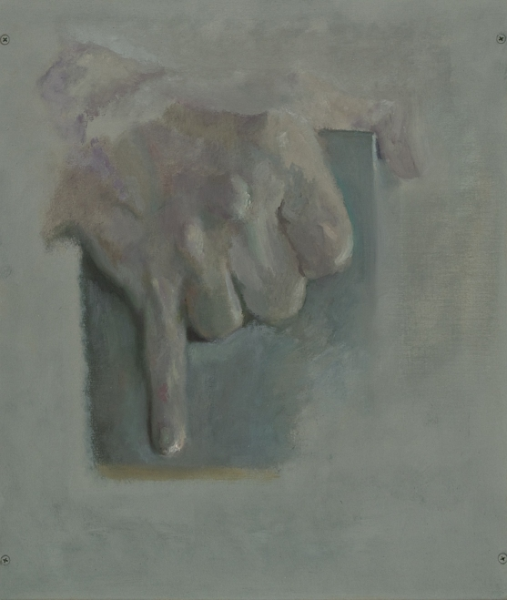 Paintings and drawings of my left hand ABB 10/17/12