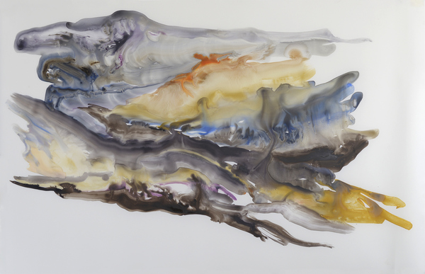 Paintings Watercolour and gouache on polypropylene