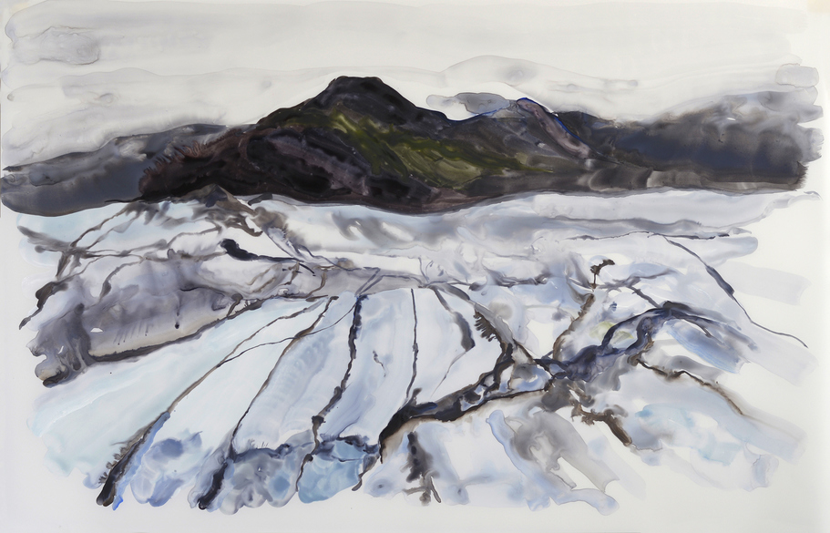 Paintings Glacier I