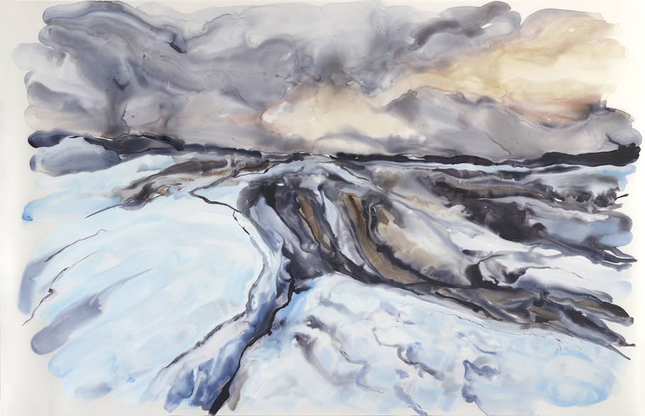 Paintings Glacier IV