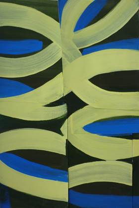 Works on Paper & Prints gouache on cut paper