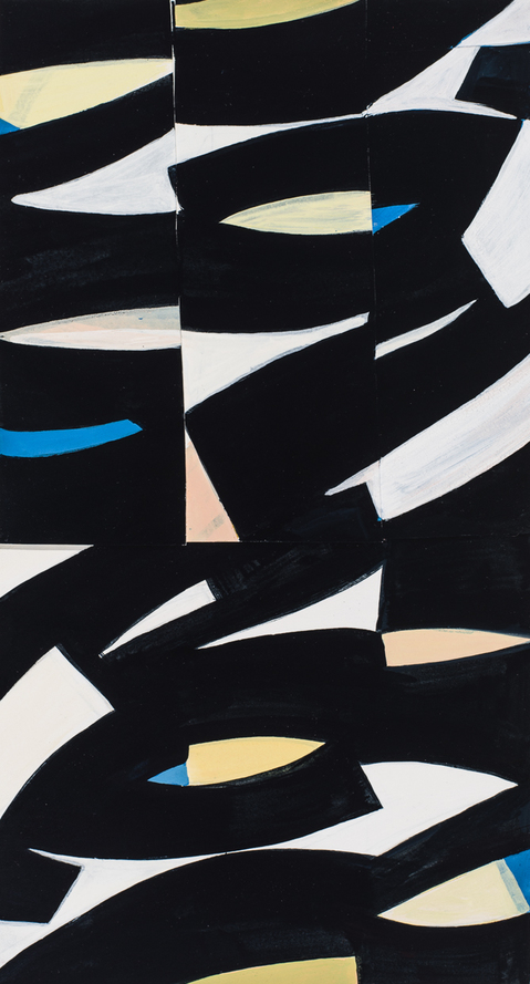 Works on Paper & Prints Untitled (black curves)