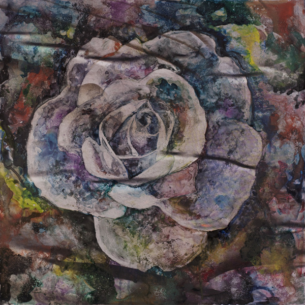 Watercolor/Photo Rose