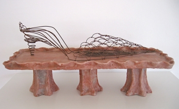 Jennie Nichols Shoes Wire, Paper Mache, Wax