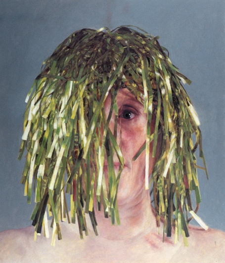 2005 Self-Portrait Wearing Tinsel Wig