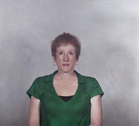 2013 Self-portrait with green shirt