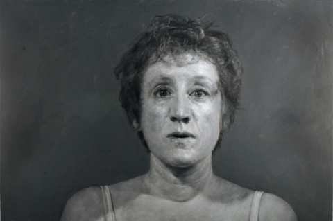 2006 Large Gray Self-Portrait