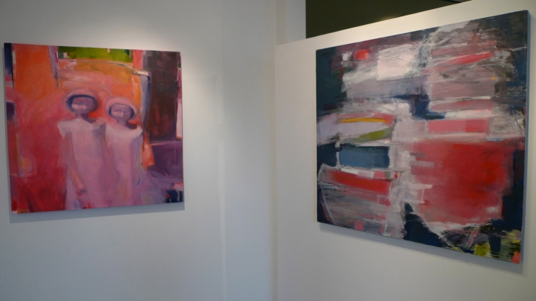 Jenny Lai Olsen Exhibition Images Oil on Canvas
