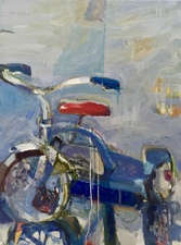 Jenny Lai Olsen New Trike, 2015-2016 Oil on Canvas
