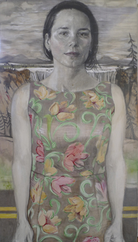 JENNY SCOBEL Works pencil, watercolor, oil