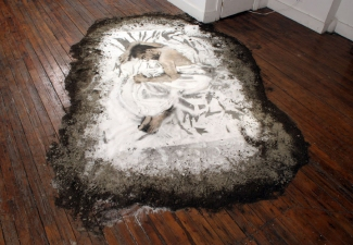 "Jeph Gurecka solo exhibition, ""Salt, Soil, Ash""  2006 31Grand Gallery, Brooklyn, New York"