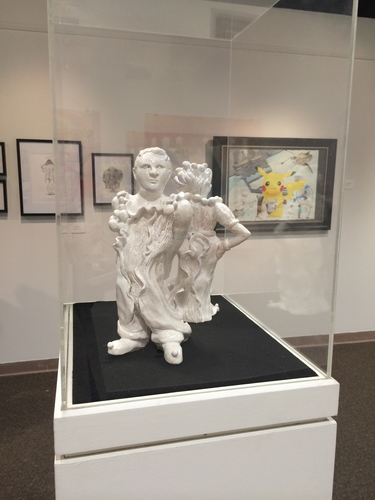 Jerelyn Hanrahan The Porcelain figurine series  and Functional objects 2015 - 2017 Pearlized sculptures