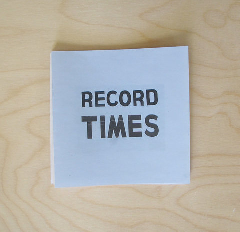 Record Times