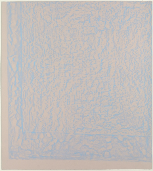 JESSICA DICKINSON Towards- / Full-See / Already. >Frieze London >2010 Wax oil pastel on paper