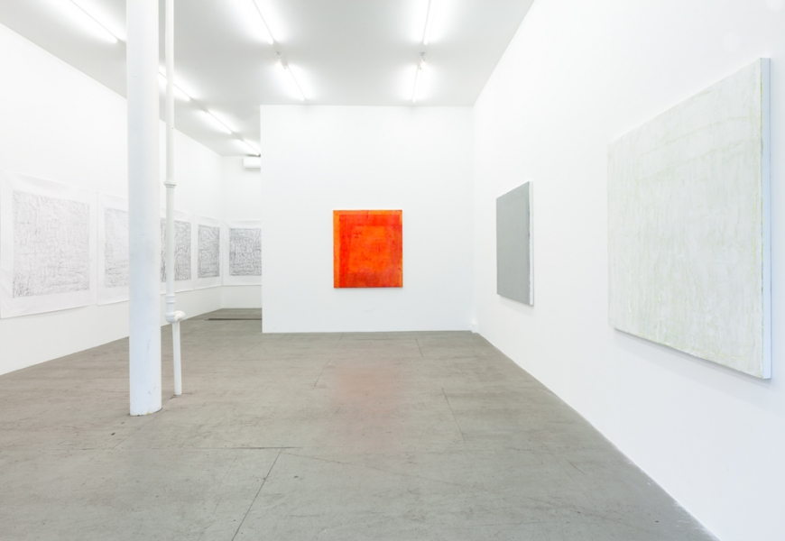 JESSICA DICKINSON BEFORE/BESIDE >James Fuentes >2011 Installation View