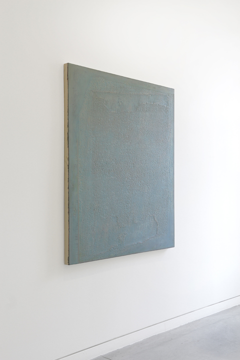 JESSICA DICKINSON Of- > Altman Siegel Gallery > 2013 oil on limestone polymer on panel