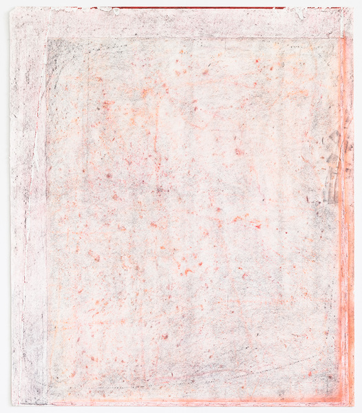 JESSICA DICKINSON works on paper pastel, graphite, and gouache on paper with holes