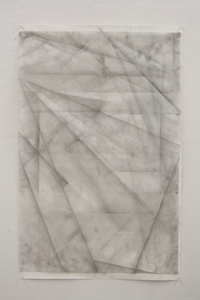 JIEUN JANG Drawing graphite on mylar and paper