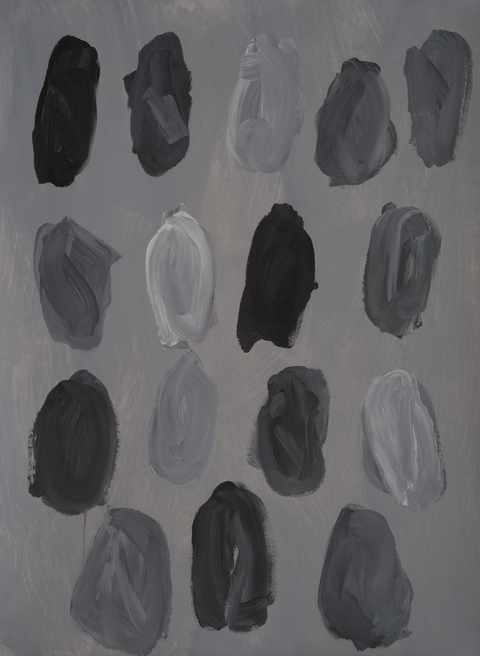 Jill Christian Recent Paintings acrylic on paper