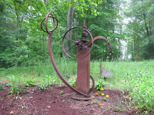 JIM FELICE Sculpture Steel