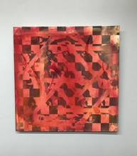 JIM FELICE Painting acrylic urethane on aluminum panel