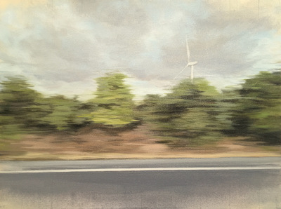 JENNIFER KRAUSE CHAPEAU From the Road oil on canvas